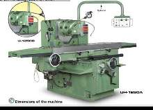 Bed Type Milling Machine - Universal KRAFT UH-1000 photo on Industry-Pilot