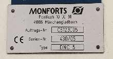 Токарный станок с ЧПУ MONFORTS DNC 5 840 D Heidenhain фото на Industry-Pilot