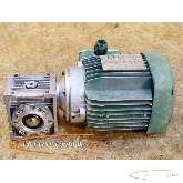 Asynchronous motor Leroy Somer - Lenze Leroy Somer LS 63 E Drehstrom- mit Lenze 12.304.03.2-3200-0541 Getriebe photo on Industry-Pilot