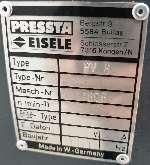 Углообжимной станок для алюминия Pressta Eisele PV 8 фото на Industry-Pilot