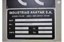 Machining Center - Vertical Anayak - ANAK-MATIC 10  photo on Industry-Pilot