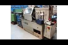 Прутковый токарный автомат продольного точения Tornos AS14 Stangenlademagazin купить бу