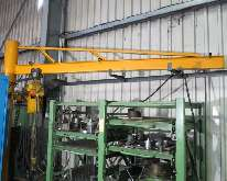Pillar jib crane  500 kg photo on Industry-Pilot