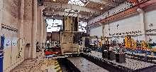 SHW 5- Achsen- Fräs- und Bohrwerk mit Späneförderer, gebraucht 5-Axis Gantry Mill with Chip conveyor, used photo on Industry-Pilot