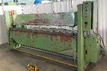 Листогиб с поворотной балкой HERA UM III 2500 x 5 mm купить бу