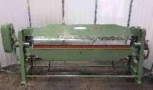 Листогиб с поворотной балкой KNUTH SB 2060 2000/2 купить бу