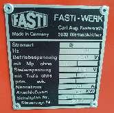 Кромкогибочная машина, зиг-машина Fasti 81504 фото на Industry-Pilot