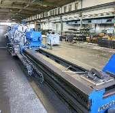 Тяжёлый токарный станок POREBA TCG 125 x 6000 купить бу
