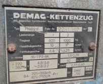 Электротельфер Demag PK 5 N-F Elektrokettenzug 1000 kg фото на Industry-Pilot