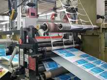 Web offset printing press Arsoma EM 410 with 6 UV printing units photo on Industry-Pilot