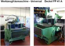 Toolroom Milling Machine - Universal Deckel FP 41A photo on Industry-Pilot
