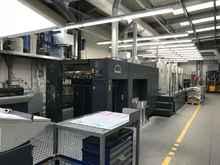 Офсетная печатная машина ROLAND 705 3B+LV купить бу